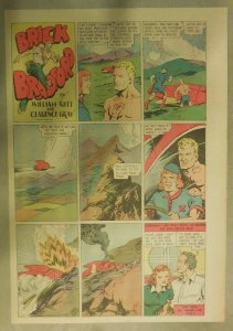 Brick Bradford Sunday Page by Ritt & Gray from 6/19/1938 Tabloid Size: 11 x 15