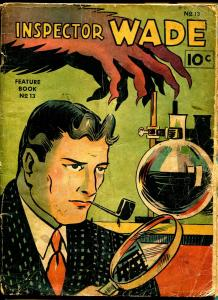 Feature Book #13 1938-Inspector Wade-Lyman Anderson-Edgar Wallace-horror-G