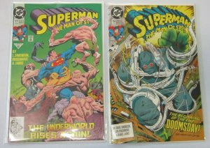 Superman 1st print #17+18 6.0 FN (1991)