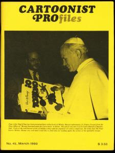 CARTOONIST PROFILES #45-1980-F. OPPER-CHUCK JONES FN