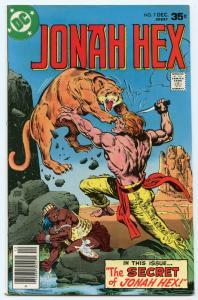 Jonah Hex 7 Dec 1977 FI-VF (7.0)