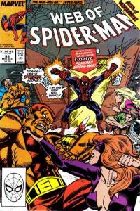 Web of Spider-Man (1985 series) #59, VF+ (Stock photo)