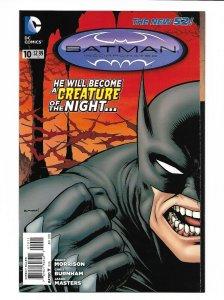 Batman Incorporated #10 DC New 52 NM 9.4  (2013) Chris Burnham gatefold cover.