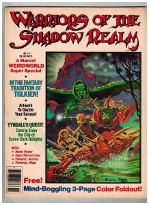 Warriors Of The Shadow Realm # 11 FN Marvel Comic Books Magazine WOW!!!!!!!! SW2