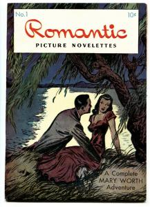 Romantic Picture Novelettes #1 1949-ME-Creig Flessel-Mary Worth-HIGH GRADE