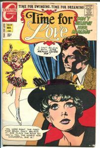 Time For Love #19 1970-Charlton-ice skater cover-VG/FN
