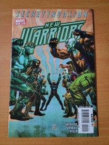 New Warriors #14 ~ NEAR MINT NM ~ 2008 Marvel Comics