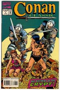 Conan Classic #8 (VF+) Marvel Comics ID#SBX2