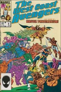 Marvel WEST COAST AVENGERS (1985 Series) #4 NM