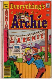 Everything's Archie   # 57 GD