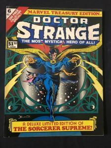 Marvel Treasury Edition #6 1975- DOCTOR STRANGE FN