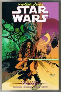 STAR WARS - TWILIGHT, TPB, GN, 1st, Jedi, Saber, NM, 2001