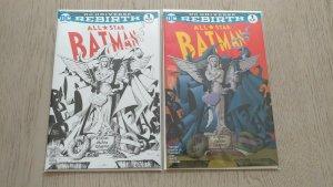 All Star Batman #1 SET NM / Color Only 3000 B&W RARE 1500 MCFARLANE HOMAGE COVER