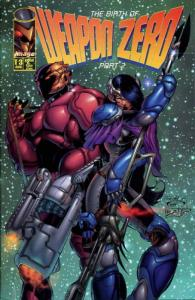 Weapon Zero #2 VF/NM; Image | save on shipping - details inside