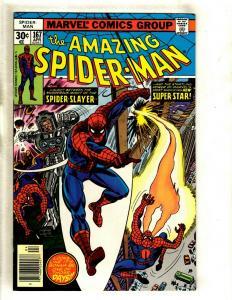 Lot Of 5 Amazing Spider-Man Marvel Comic Books # 167 168 169 170 171 Goblin GK5