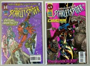 Scarlet Spider set:#1+2 8.0 VF (1995)