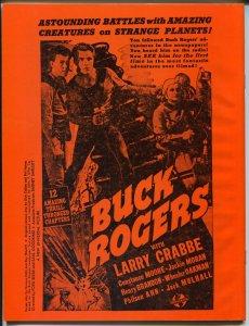 Media Sight #2 1983-Buster Crabbe-Superman-WC Fields-Buck Rogers-VF