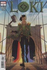 Loki (2019 series) #1, NM + (Stock photo)