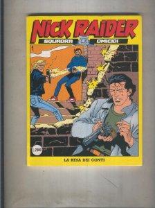 Nick Raider numero 060: La resa dei conti