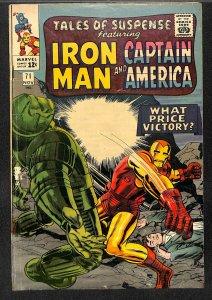 Tales Of Suspense #71 GD 2.0 Iron Man! Iron Man