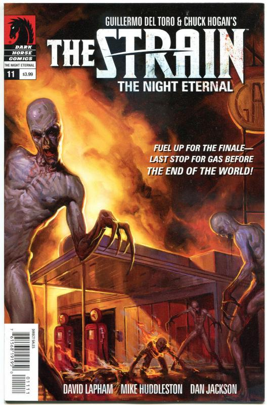 The STRAIN #11, Night Eternal, VF+, Guillermo del Toro,2014,more Horror in store