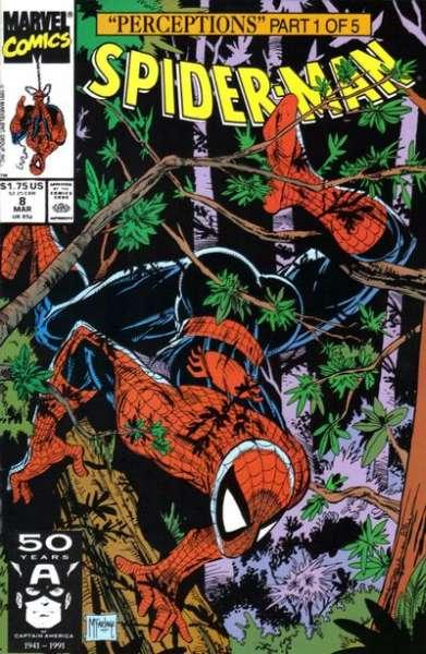 Spider-Man (1990 series) #8, NM + (Stock photo)