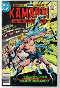 KAMANDI #50, VF, Ayers, OMAC, Last Boy on Earth, 1972, more in store