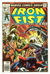 Iron Fist 15   X-Men
