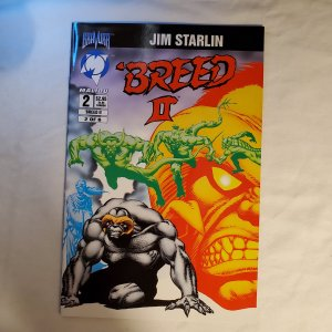 Breed II Book of Revelation 2 Very Fine Cover by Jim Starlin