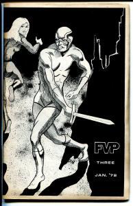 FVP #3 1972-Dave Cockburn--Chuck Fiala-Duffy Vorland-comic stories-FN