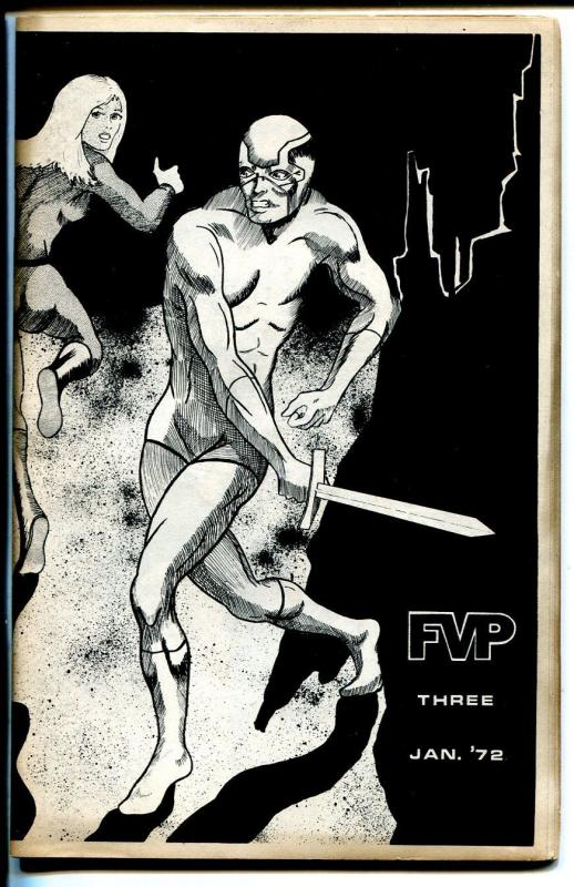 FVP #3 1972-Dave Cockburn--Chuck Fiala-Duffy Vorland-comic stories-FN