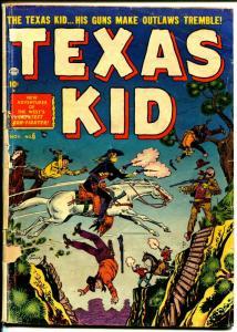 Texas Kid #6 1951-Atlas-Joe Maneely-George Tuska-elusive issue-G-