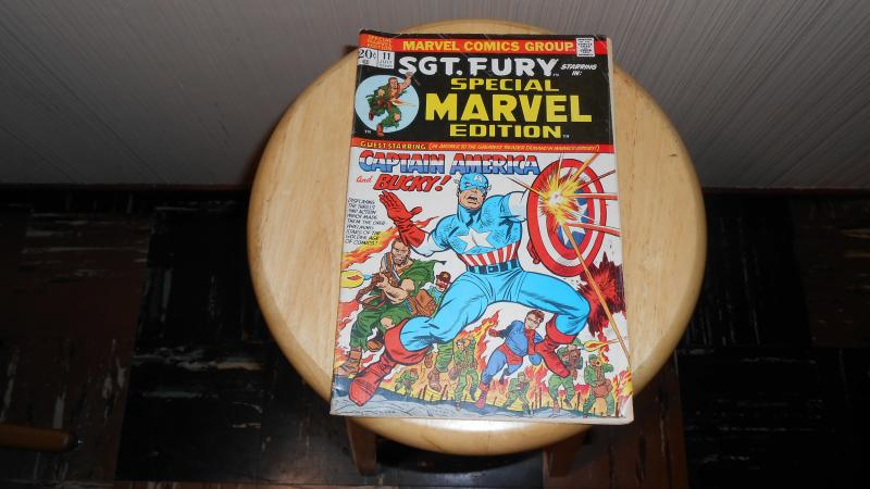 SGT. FURY starring in SPECIAL MARVEL EDITION # 11 (JULY 1973)