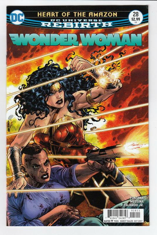 WONDER WOMAN (2016 DC) #28 NM- A68378