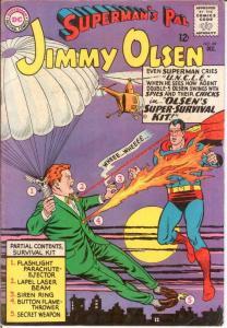 JIMMY OLSEN 89 VG+ Dec. 1965 COMICS BOOK