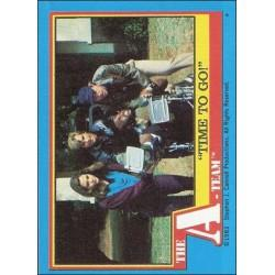 1983 Topps The A-Team TIME TO GO! #27