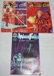 WEIRDFALL (1995 AP) 1-3  M.Howarth complete mini-series