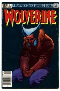 WOLVERINE LIMITED SERIES #3 comic book-Marvel 1982 comic book