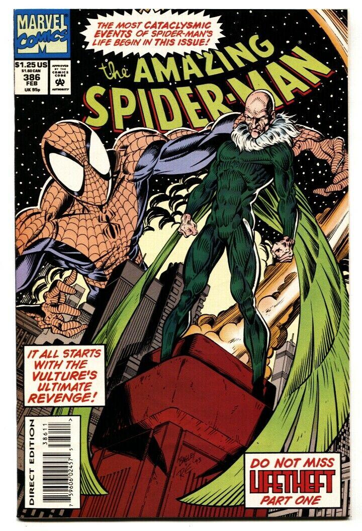 Amazing Spider-man 1963 series # 386 near mint comic book