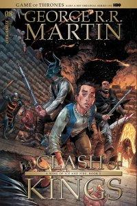 GEORGE R.R. MARTIN A CLASH OF KINGS #8