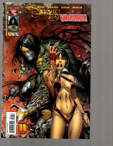 11 Comics Darkness Vampirella Witchblade 76 Wolverine Black Suns and more EK19