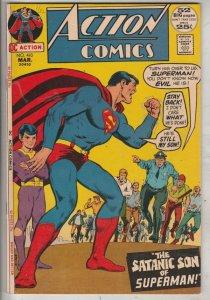 Action Comics #410 (Mar-72) NM- High-Grade Superman