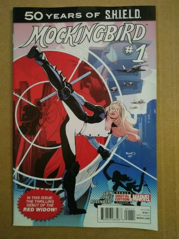Mockingbird #1 Red Widow 1st appearance 1st print Marvel Comics (2015)