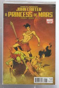 JOHN CARTER A PRINCESS OF MARS #1 -  MARVEL COMIC - BAGGED,& BOARDED