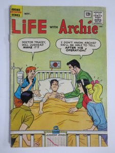LIFE WITH ARCHIE 17 GOOD (11/1962) Detached cover COMICS BOOK