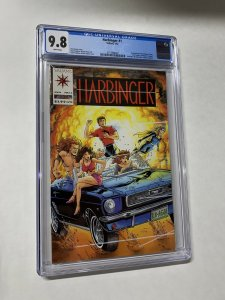 Harbinger 1 Cgc 9.8 White Pages Valiant Coupons Intact 1st Print