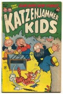 Katzenjammer Kids #23 1953- tiger cover VG+