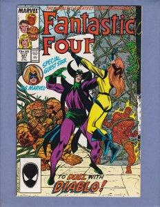 Fantastic Four #307 FN Marvel 1987