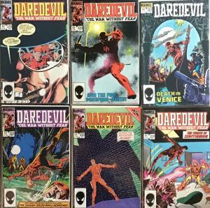 DAREDEVIL (MARVEL)#219-224 NM 9.4 CONDITION