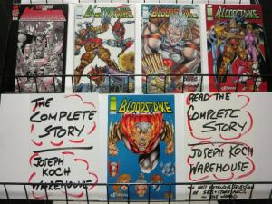 BLOODSTRIKE (1993 IMAGE) 1-5 LIEFELD/FRAGA;THE BLOOD BR
